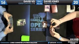SCGATL - Standard - Round 8 - David Jones vs David Vo