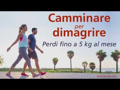 Dimagrire 5 kg : i benefici della camminata.