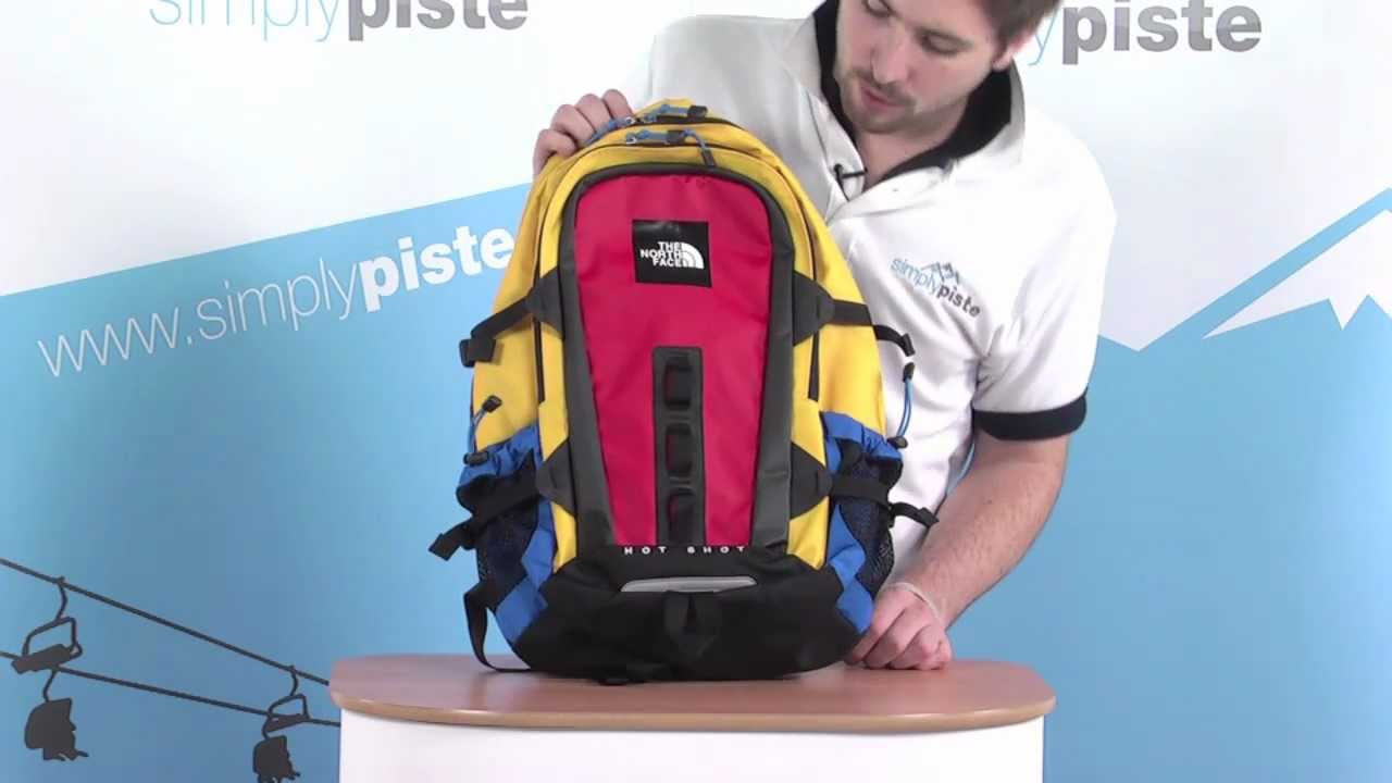 68cc7c4e6 The North Face Base Camp Hot Shot Backpack - Yellow and Red -  www.simplypiste.com