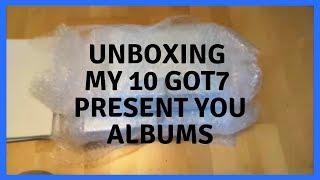 Baixar Unboxing 10 GOT7 Present You Albums