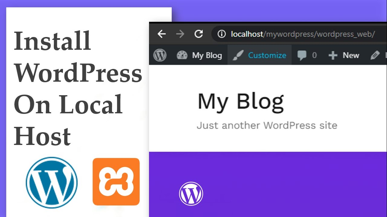 How To Install WordPress On Localhost - XAMPP