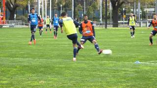 Melbourne Victory Training Session 14-05-2015