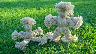 Making A Yarn Doll