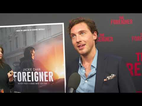 Foreigner LA Premiere - Itw Rory Fleck Bryne (official video)