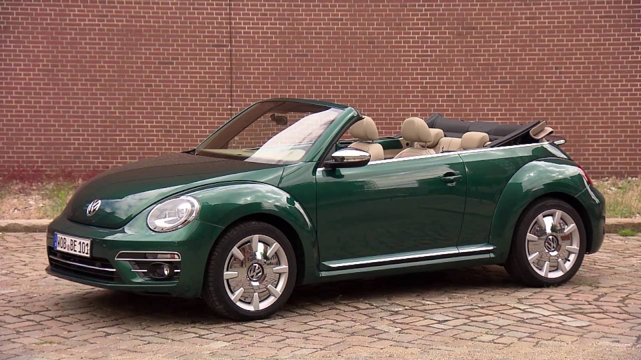 2017 Volkswagen Beetle Exterior Design In Green