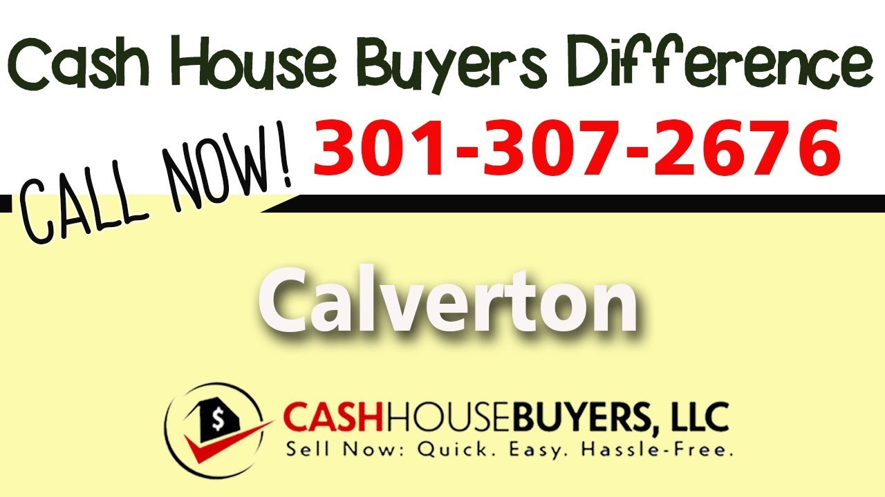 Cash House Buyers Difference in Calverton MD   Call 301 307 2676   We Buy Houses Calverton MD