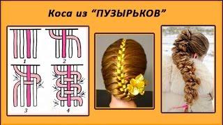 уроки плетения кос для начинающих