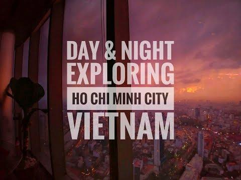 Vietnam Trip | Exploring Ho Chi Minh City (Saigon) Day/Night