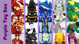 터닝메카드 23기 총출동 변신 로봇에서 자동차로 에반 타나토스 크랑 코카트 파이온 만타리 프린스콩 또봇 헬로카봇 장난감 mecard transforming robot to mini