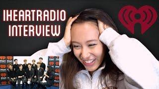 EXO iHeartRadio Interview Reaction