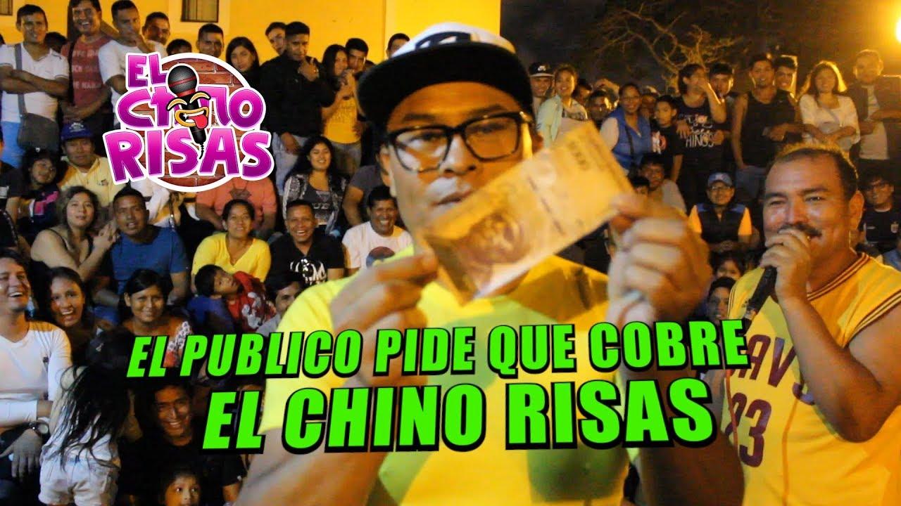"""El Chino Risas """"El Publico Me Pide Que Cobre"""" 13 De Enero 2019"""