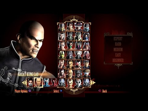 MK9 | GREAT KUNG LAO Expert Ladder by Eh SnOwY ((MOD BY Luckeylad))
