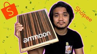 Unboxing Ammoon Flat Cajon dari Shopee + Review