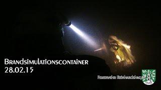 Flash-Over und Atemschutztraining  28.02.15 - FF Reinhardshagen