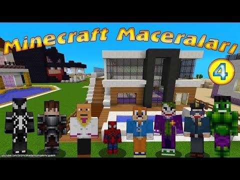 Örümcek Bebek Minecraft'ta Joker ve Venom ile Komik Minecraft Maceraları