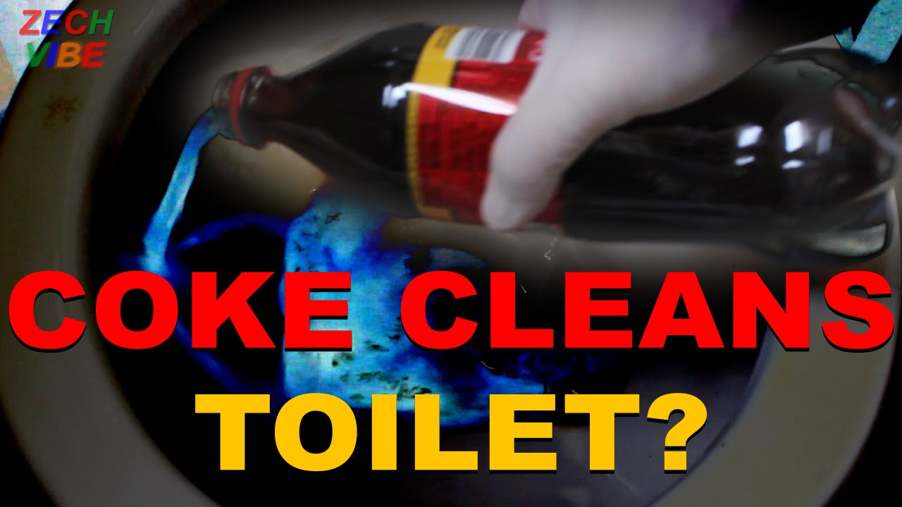 Coke Cleans Toilet or Rust or Penny REAL or FAKE TEST - YouTube