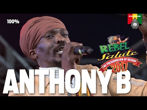 Anthony B Live at Rebel Salute 2017