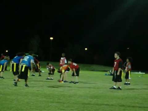 Jonathan Lockhart sweeps left for late touchdown