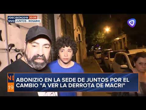 Abonizio ensayó un pedido de disculpas por el bochornoso episodio en la sede de Juntos por el Cambio