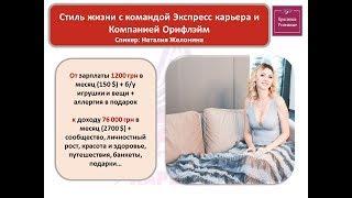 2018 Стиль жизни с ЭК и ОРифлэйм. Желонина Наталия