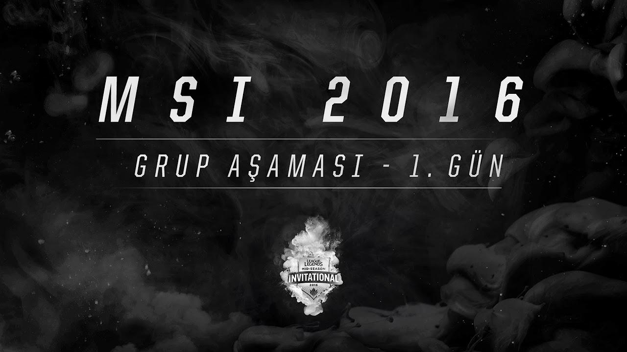 《LOL》2016 MSI 季中邀請賽 小組賽 Day5
