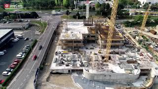 Matrix Office Park - pogled dronom iz zraka