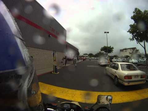 Costco parking lot is like riding trails Honolulu Hawaii