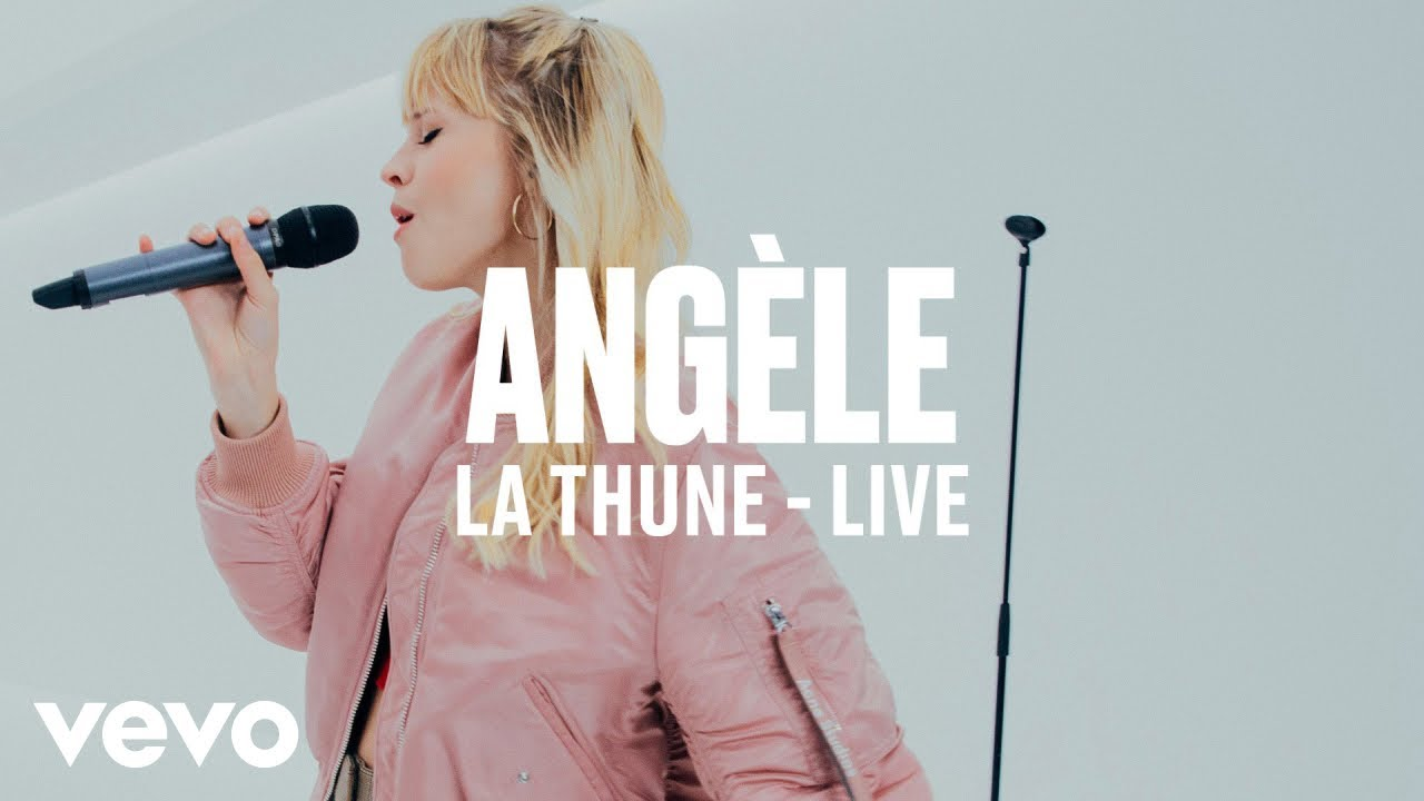 Angèle — La Thune (Live) | Vevo DSCVR ARTISTS TO WATCH 2019