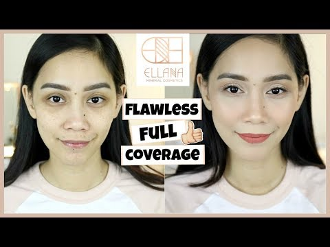 ELLANA MINERAL COSMETICS REVIEW + WEAR TEST
