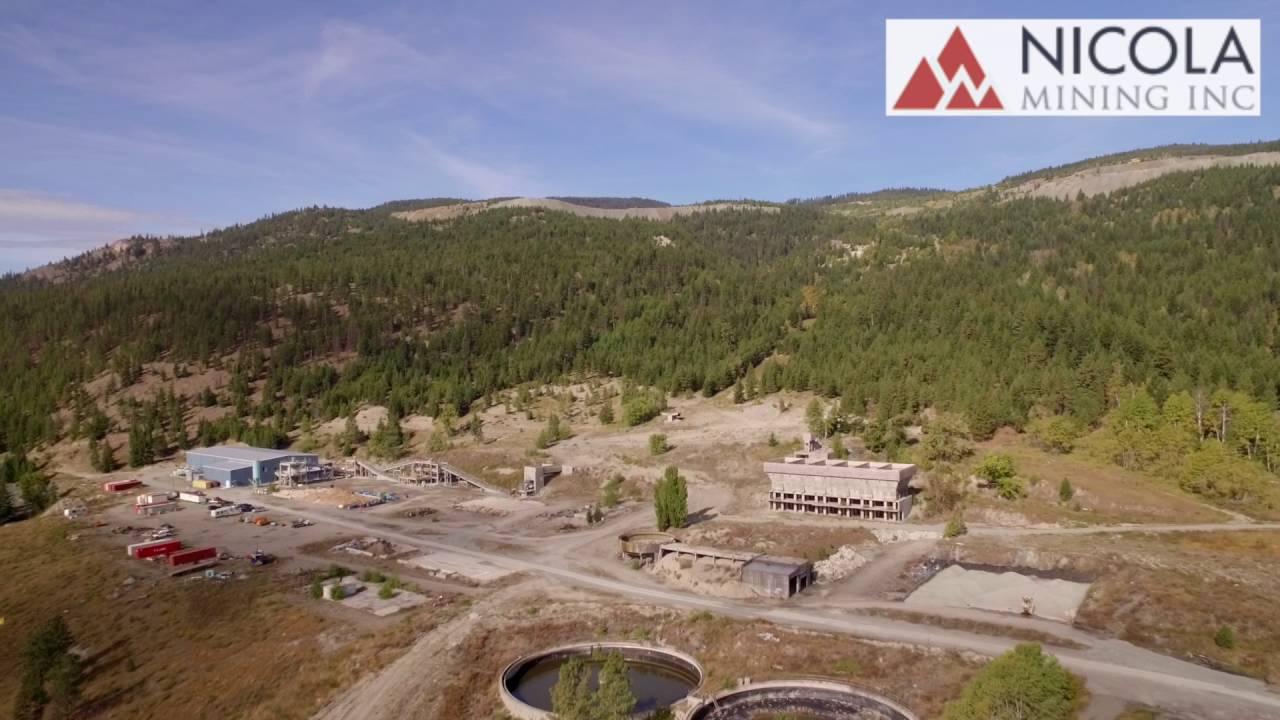 Merritt Mill and Tailings Facility | Nicola Mining Inc