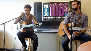 Q&A with Kris Allen and Cale Mills at Mix 106.5 - 8-8-10