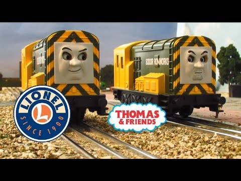 Lionel Iron 'Arry and Iron Bert: Thomas & Friends O Gauge Lionchief Model Train Review