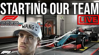 F1 2020 - Forming The Worst Formula 1 Team In History | MY TEAM