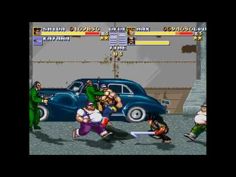 Streets of Rage The Punisher Mod