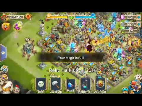 Castle Clash Magic Spell Error