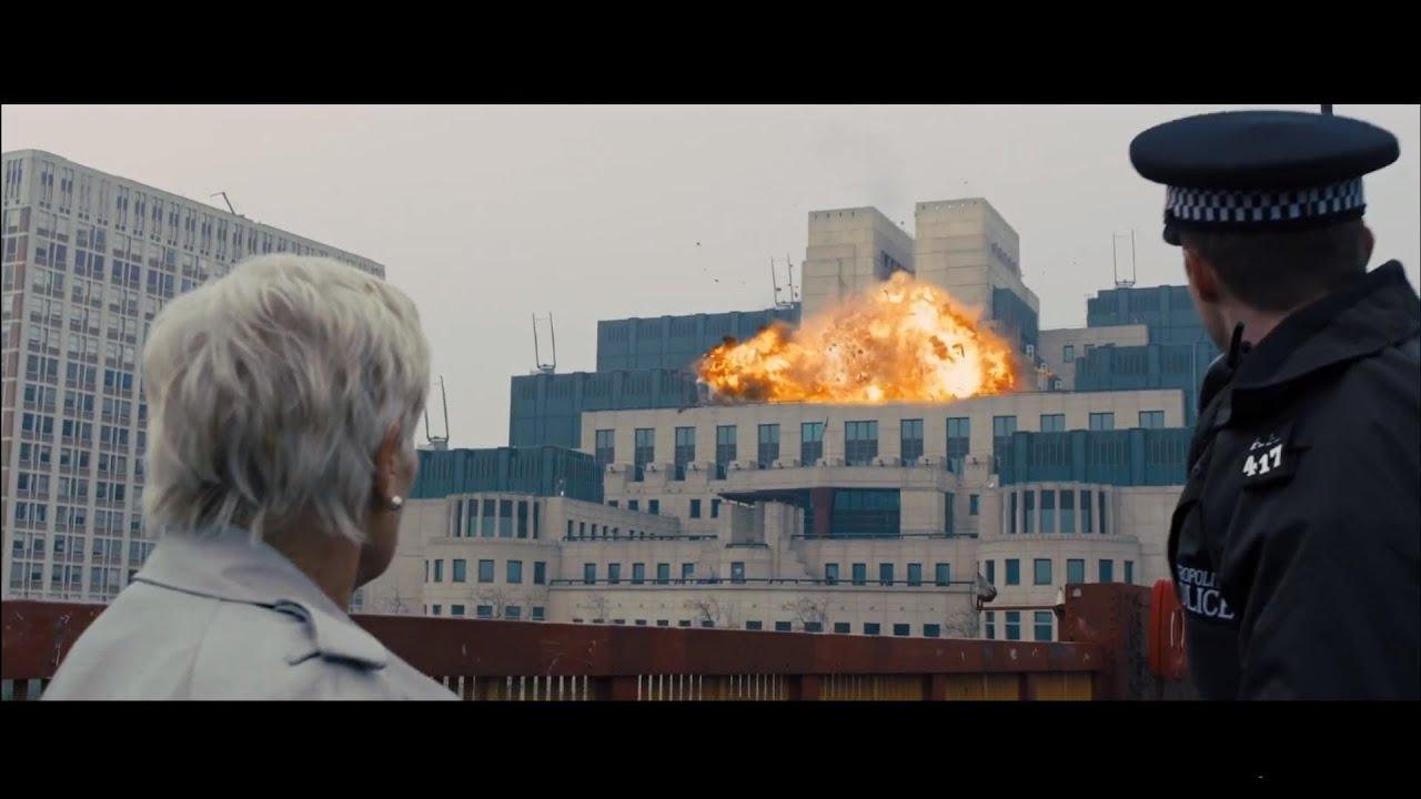 1080p Fall Wallpaper Skyfall Mi6 Explosion 1080p Youtube