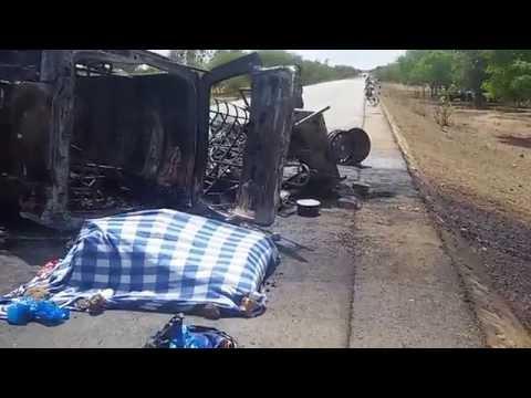 Accident de Zorgho au Burkina 4 morts
