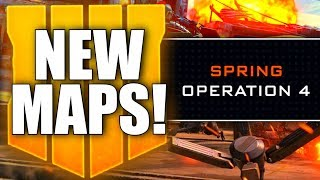 3 NEW MAPS & NEW OPERATION COMING! New Black Ops 4 Content Announced