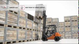 Toyota Forklift Safety (SAS) features and functions