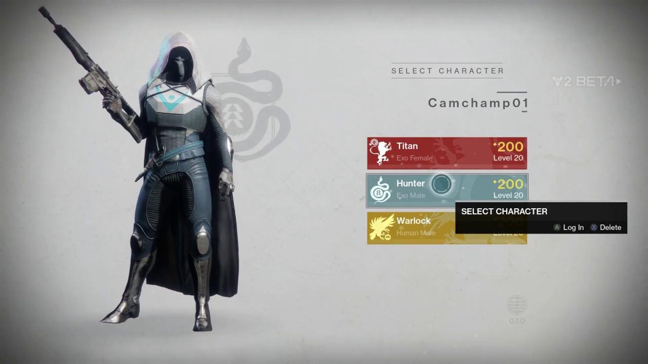 Destiny 2 Hunter Female
