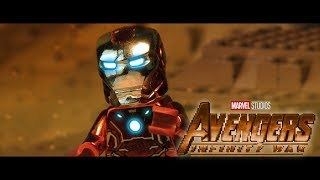 AVENGERS: Infinity War Official Trailer in LEGO!