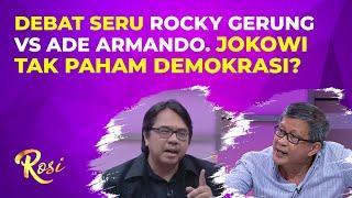 Rocky Gerung Tuding Jokowi Tak Paham Demokrasi, Ini Kata Ade Armando - ROSI