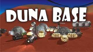[23] SSTO Space Program - Building a Duna Base! - KSP 1.3