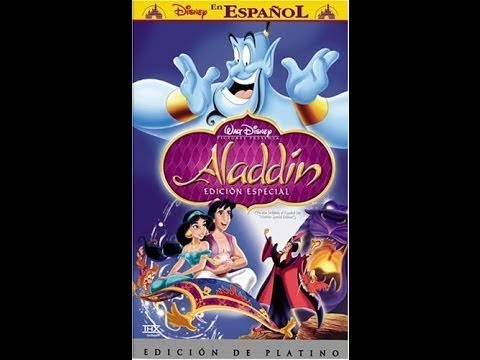 Opening to Aladdin 2004 Spanish VHS (Better Quality)