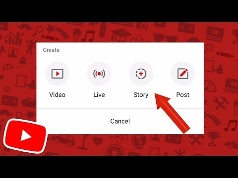 HOW TO UPLOAD TO YOUR YOUTUBE STORY! (Tutorial)