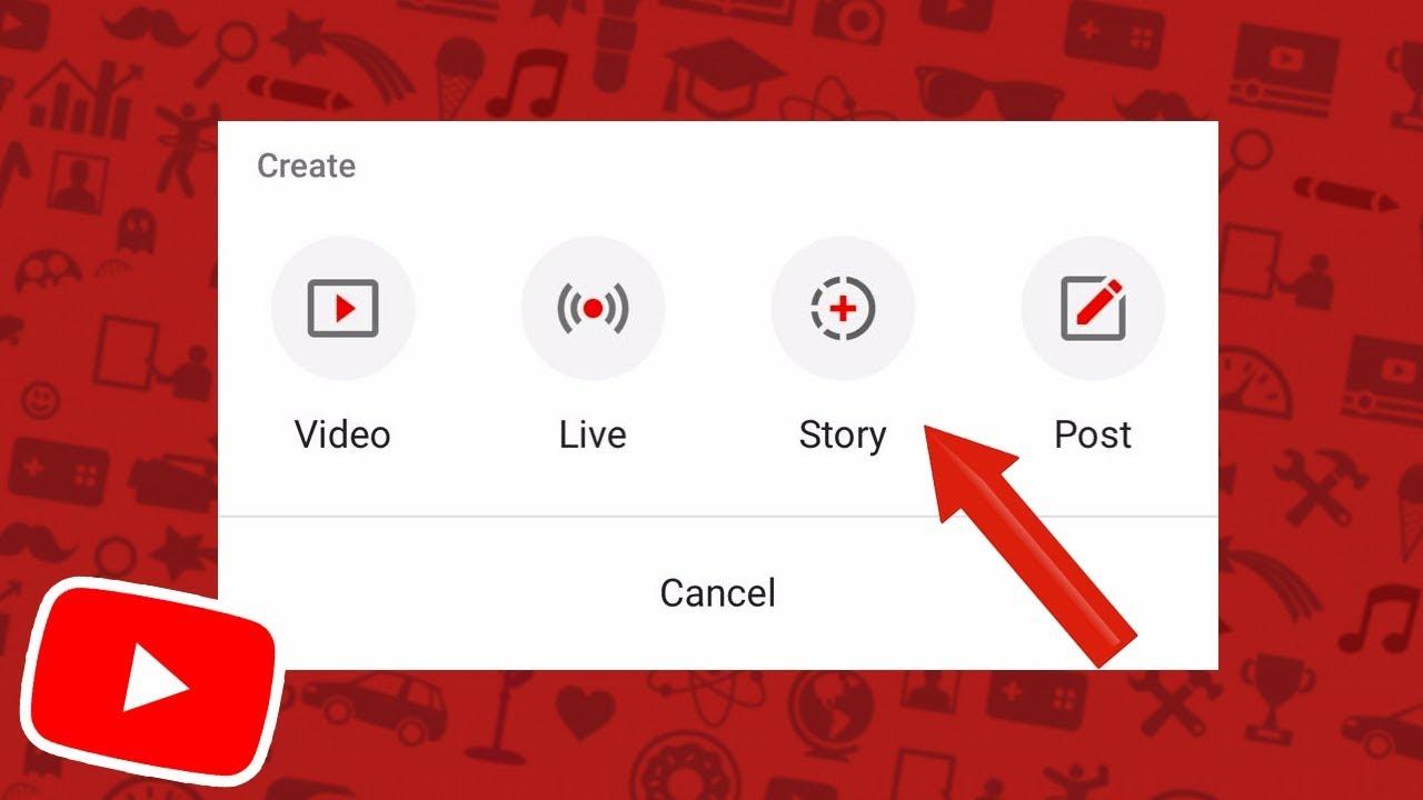 Kết quả hình ảnh cho story youtube