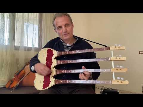 Download Melodi me Çifteli, qifteli me 4 tastiera, nga Ndue Doda. Lezhe-alb