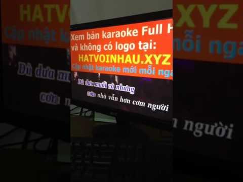 Karaoke ( Nỗi lòng của con ) 3G