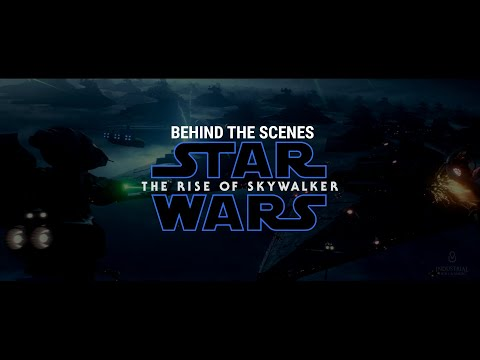 Exclusive Behind The Scenes Star Wars: The Rise of Skywalker