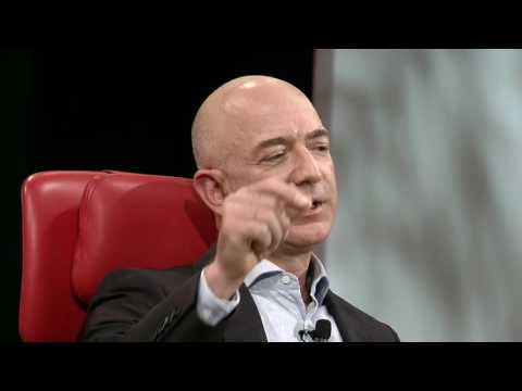 Donald Trump, Peter Thiel & space | Jeff Bezos, CEO Amazon | Code Conference 2016